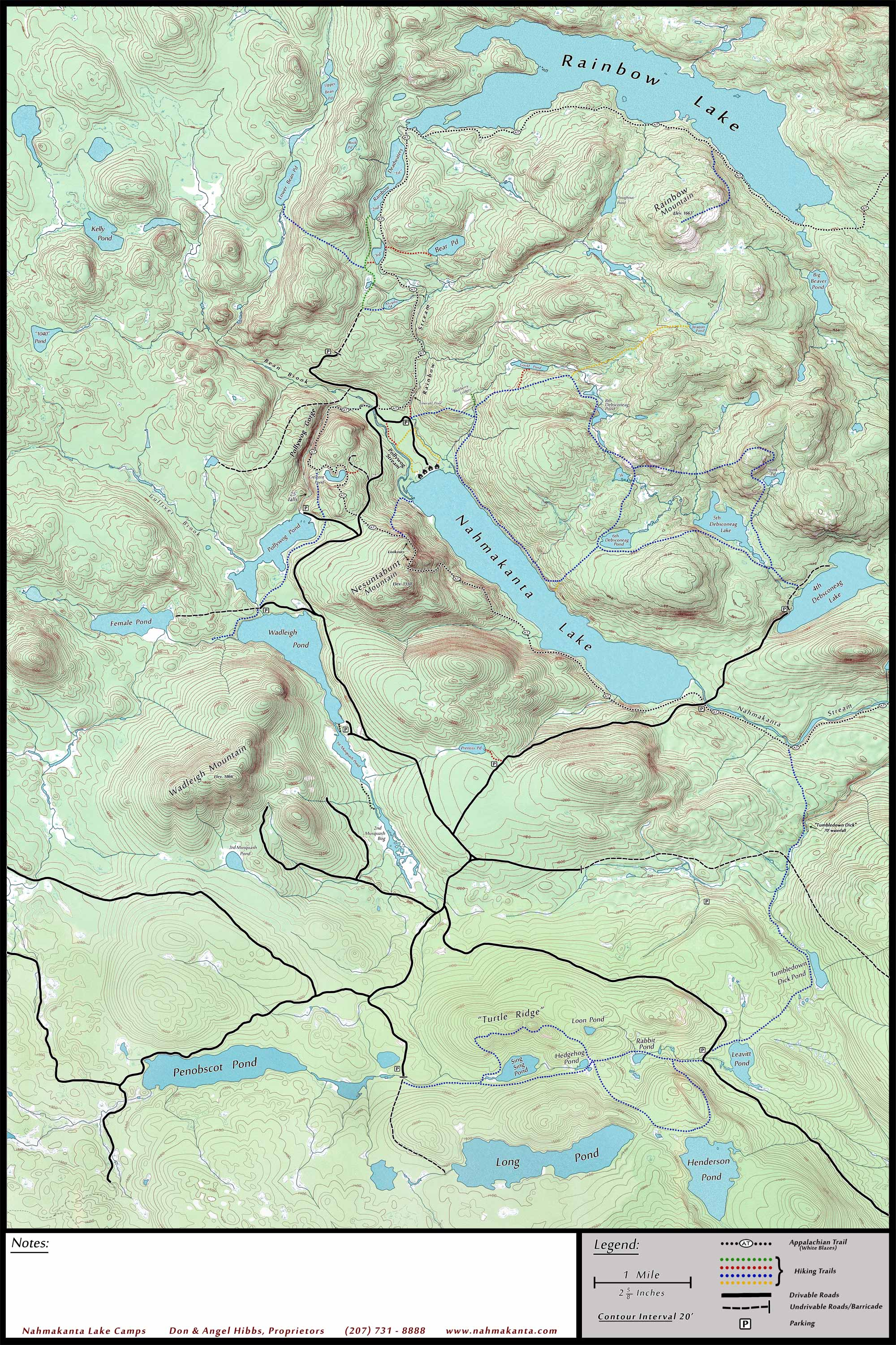 Topo Map Of Maine.Topo Map Nahmakanta Lake Wilderness Camps